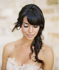 Whimsical, ethereal and gorgeous, fishtails are über popular with the daring brides who aren't afraid to opt for a different hairdo on the big day. Bride Hairstyles, Cool Hairstyles, Bridal Musings, Plait, Bridal Beauty, Fishtail, One Shoulder Wedding Dress, Braids, Bridesmaid