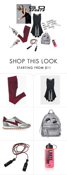 """""""sporty"""" by ann4-kar1na ❤ liked on Polyvore featuring Marc Jacobs, Chiara Ferragni and Victoria's Secret"""