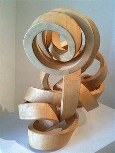 wood sculpture Art Sculpture, Modern Sculpture, Abstract Sculpture, John Rose, La Art, Got Wood, Art Diary, Wooden Art, Wood Design