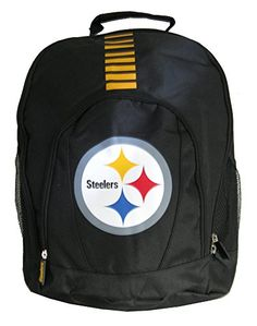 NFL Pittsburgh Steelers Primetime Laptop Backpack * Click image to review more details.