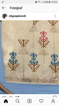 Hand Embroidery Dress, Bargello, Cross Stitching, Rugs, Cross Stitch Embroidery, Dots, Hand Embroidery, Hands, Farmhouse Rugs