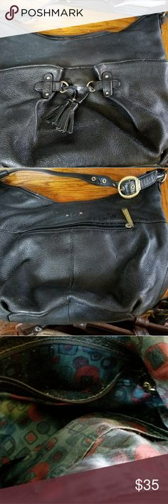 Stone Mountain Handbag Medium black purse, a great bag for everyday use. Stone Mountain Accessories Bags Shoulder Bags