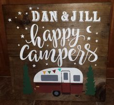 Another Great Find On Zulily Happy Campers Welcome Wall Sign