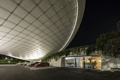 VW Autostadt Roof and Service Pavilion – Building Information