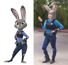 Judy Hopps Costume Tutorial... The best that I have seen! Look at this one!