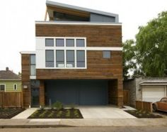 Not just a wood or vinyl substitute, fiber cement is a stellar siding choice in its own right for modern home exteriors