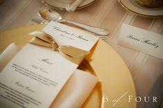 menu card tables