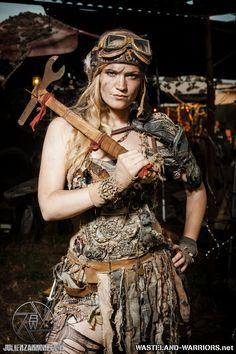 Wastelander Portraits: Lizzie by Wasteland-Warriors on deviantART