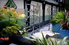 The Oncology Garden at the Childrens Hospital in Sheffield