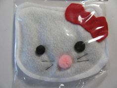 Hello Kitty Organic Catnip filled Cat Toy by KittyCrackHous, $ 5.00