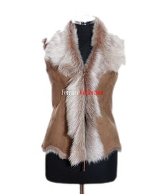 sheepskin gilet - Google Search Google Search, Fashion, Moda, Fashion Styles, Fashion Illustrations
