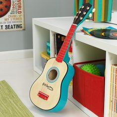 With our Lil' Symphony Guitar, kids can take part in epic jam sessions or put on concerts for the whole family. This six-string beauty makes a perfect gift for any occasion. It's like the song says; l