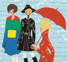 Mary Quant Wet Look 1960s