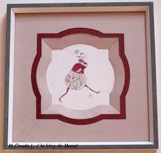 M Claude L. / élève de Manel / biseaux fantaisie en arche Claude, Blog, Frame, Home Decor, Fantasy, Picture Frame, Decoration Home, Room Decor, Blogging