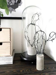 DIY Kaktus af ståltråd