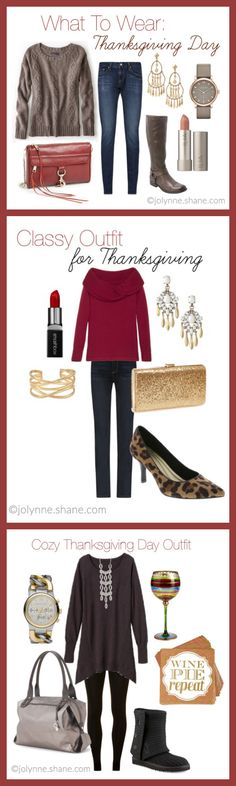 Casual Outfit for Thanksgiving Day plus TWO MORE Thanksgiving outfit ideas!