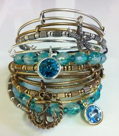 want!!! #alexandani #jewelry #anchor #starfish