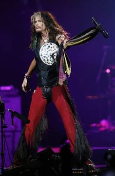Steven tyler when he was at Denver!!! I was at that concert it was amazing