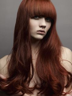 Chestnut Red Hair Color