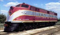 Atlantic Coast Line Railroad EMD E Unit.