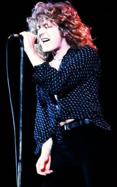 Robert Plant greatest rock and roll front man
