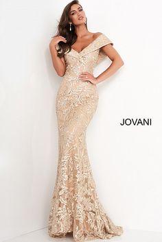 Jovani Dresses, Mob Dresses, Pageant Dresses, Lace Dresses, Quinceanera Dresses, Gold Evening Gowns, Mermaid Evening Dresses, Designer Evening Gowns, Elegant Evening Dresses