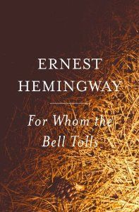 For Whom the Bell Tolls (By Ernest Hemingway)For Whom the Bell Tolls begins and ends in a pine-scented forest, somewhere in Spain. The year is 1937 and the Spanish Civil War is in full swing. Robert Jordan, a demolitions expert attached to the...