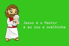 eu sou ovelhinha jesus é pastor - Pesquisa Google