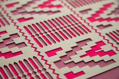 Kente Laser Cut Artwork Leif