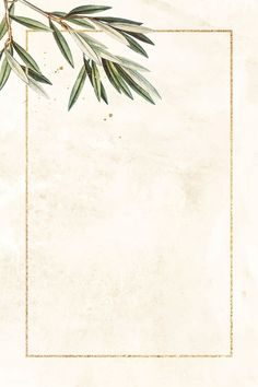 powerpoint Rectangle gold frame with olive branch pattern vector Gold Wallpaper Background, Framed Wallpaper, Wallpaper Backgrounds, Watercolor Wallpaper, Flower Wallpaper, Olive Green Wallpaper, Invitation Background, Zeina, Floral Logo