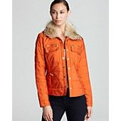 MICHAEL Michael Kors Puffer Coat w/ Fur Hood
