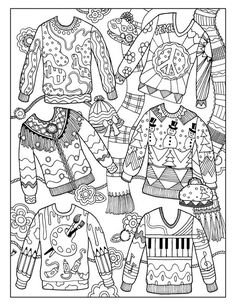 170 Best Adult Christmas Colouring Images Coloring Books