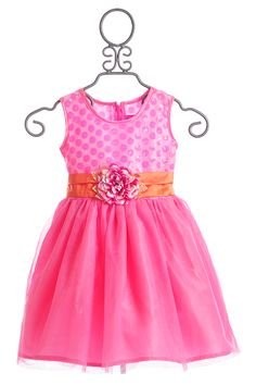 Haute Baby Girls Size 4 to 8 Easter Dress April Bloom $89.00