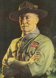 Robert Baden-Powell - the father of the Boy Scouts and Boer War hero in Mafeking (now Mafikeng)