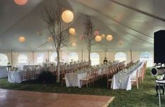 Vermont Tent Wedding Reception by Barnard Inn White Tent Wedding, Wedding Reception Layout, Tent Reception, Outdoor Wedding Reception, Marquee Wedding, Backyard Tent Wedding, Dream Wedding, Outdoor Weddings, Country Weddings