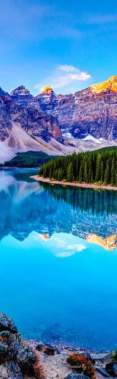 Lake Louise at Banff National Park in Alberta, Canada