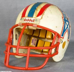 1980s Houston Oilers Helmet