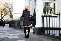 Shine Bright Like a Christmas Angel What Courtney Wore, Courtney Kerr, Christmas Angels, Dresses With Sleeves, Bright, Fashion Bloggers, Long Sleeve, Satchel, How To Wear