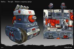 Tank model 02. From www.Odin3D.com