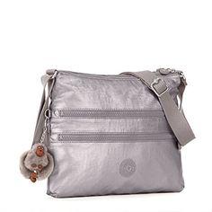 3b40afdd25 Kipling Luggage Alvar Crossbody Bag Metallic Pewter *** For more  information, visit image link.