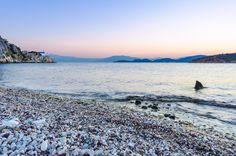 Kondili Beach - Kondili beach @ Vivari, Argolida, Greece.