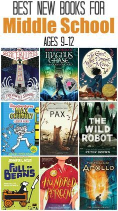 Best New Middle School Reading Books, for ages 9-12 | The Jenny Evolution