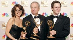 Tina Fey, Lorne Michaels and Dennis McNicholas