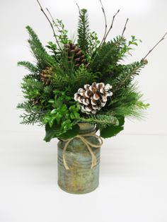 New Fresh Christmas Greens for Decorating