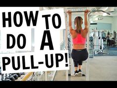 How To Do Your First Pull Up For Beginners - Videos - The Running Bug