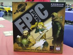 Epic PVP Fantasy Base Set I had an opportunity to play this at GenCon 2016.  Great game with a team variation. Play 2 players 4 players or cooperatively with 4 people divided into 2 teams.  Epic PVP: Fantasy is a head-to-head deck building battling card game. Players start off by choosing a race deck and a class deck Next players shuffle them together to create unique character combinations such as a High Elf Rogue or Dwarf Druid. Each combination creates unique tactics and strategies…