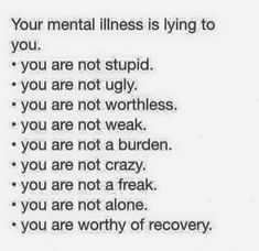 We are all worth it! Do not let anyone else tell you otherwise, doesn't matter who it is either. #SymptomsofAnxiety