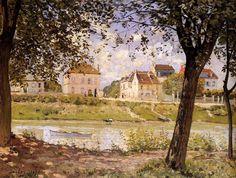 Villeneuve-la-Garenne - Alfred Sisley | ARTMUSEUM.CZ