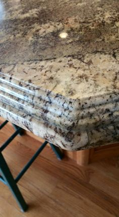 Rope Edge Or Rolled Granite Edge 6cm Laminated The