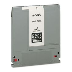 "Sony® - Optical Disk, Write Once 5.25"" (WORM) Disks, 5.2GB, 2,048 Bytes/Sector - Sold As 1 Each - High-capacity disks are perfect for quick file retrieval at a low cost per gigabyte. by Sony. $79.99. Sony® - Optical Disk, Write Once 5.25"" (WORM) Disks, 5.2GB, 2,048 Bytes/SectorHigh-capacity disks are perfect for quick file retrieval at a low cost per gigabyte. Certified data storage reliability. Capacity Range (Data): 5.2 GB; Format Type: ANSI/ISO; Bytes/Sector: 2048.Gl..."